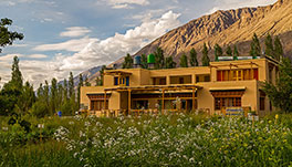Nubra Ecolodge-cottage-view
