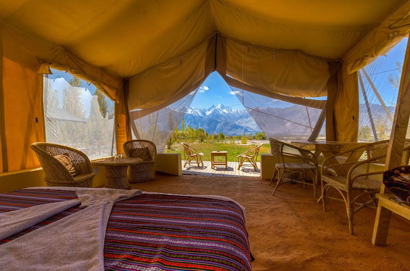Nubra Ecolodge-Safari Tent