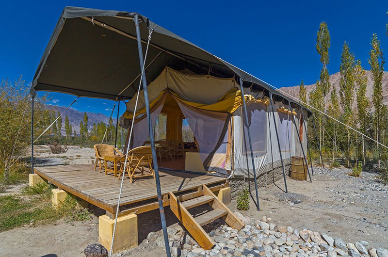 Nubra Ecolodge-Safari Tent1