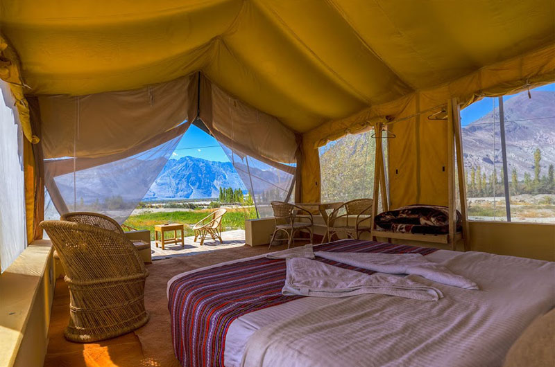 Nubra Ecolodge-Safari Tent2