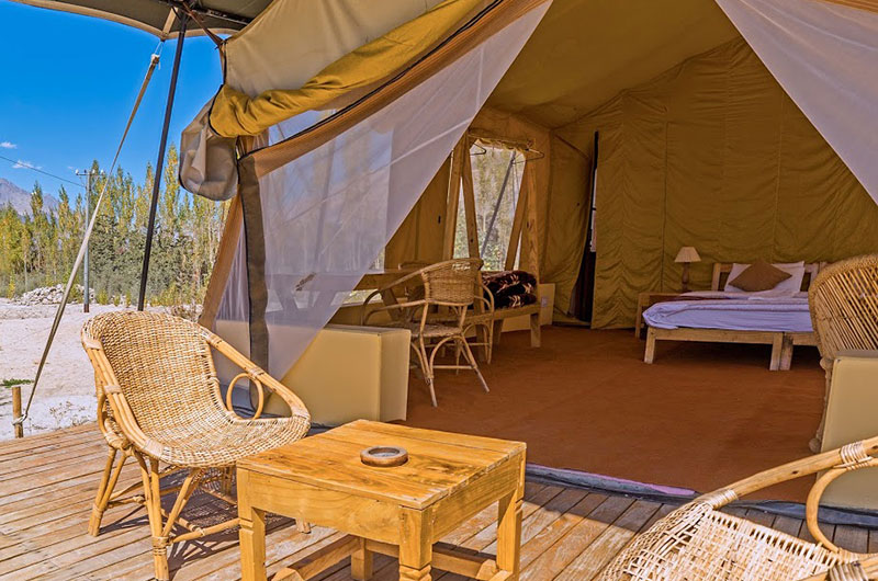 Nubra Ecolodge-Safari Tent3