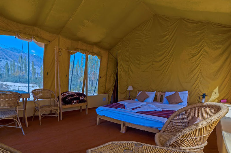 Nubra Ecolodge-Safari Tent4