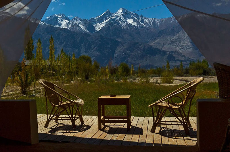 Nubra Ecolodge-Safari Tent7